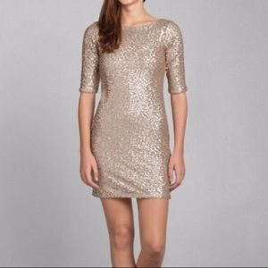 Abercrombie Rylie Sparkling Bodycon Dress - Small